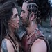 Actress Kriti Sanon With Actor Sushant Singh Rajput In Film Raabta Wallpaper | Famous HD Wallpaper