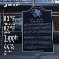 Hamilton Park Community visit