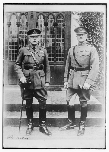 Douglas Haig and John Joseph Pershing