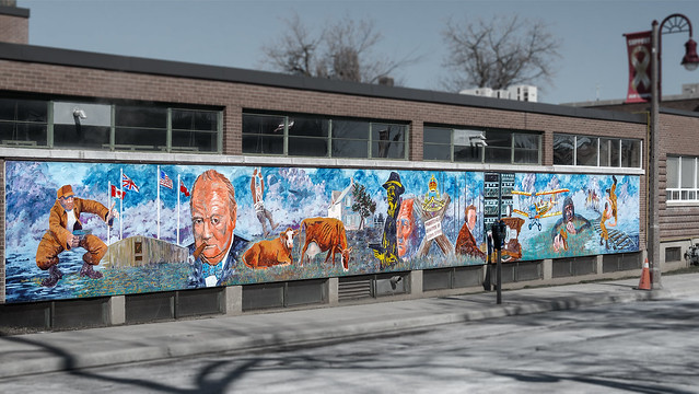 Memorial Park Mural (Oshawa, Ontario)