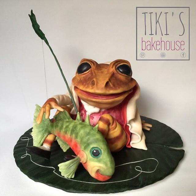 Cake by Tiki's Bakehouse