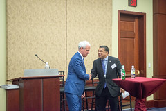 Representative Bradley Byrne (R-AL), Co-Chair, Congressional Singapore Caucus  and Dr. Satu Limaye