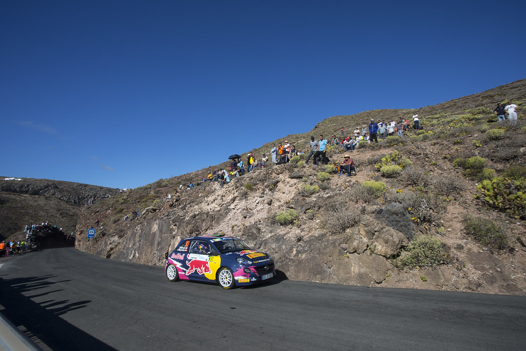 30°  during the 2017 European Rally Championship ERC Rally Islas Canarias, El Corte Inglés,  from May 4 to 6, at Las Palmas, Spain - Photo Gregory Lenormand / DPPI