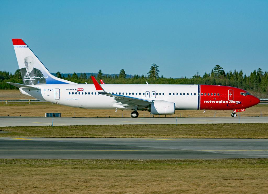 EI-FVP - B738 - Norwegian Air International