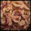 #chicken with #peppers #Homemade #CucinaDelloZio - remove chicken from marinade and add to pan