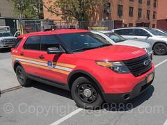 FDNY EMS Division 1 Vehicle, Washington Heights, New York City