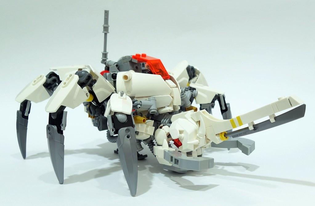 Harvester (custom built Lego model)