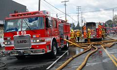 Fire Damages Seven Businesses in Mar Vista