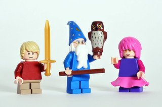 The Sword in the Stone figs | by Oky - Space Ranger
