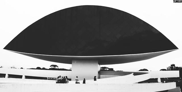 Museu Oscar Niemeyer - Curitiba - Brasil