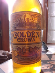 Harpers Brewing Co (Marston's for Aldi), Golden Crown Golden Ale, USA (England)