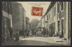 St-Christophe-le-Laris (Drôme) - Rue principale