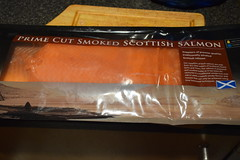 DSC_9806 Smoked Salmon from Billingsgate Fish Market, Scotch Smoked Salmon Co Ltd, was NOT up to standard