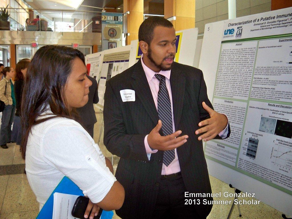 2013 Summer Scholars Poster Session and Dinner