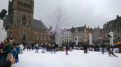Ice Skating In Bruges