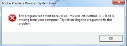 api-ms-win-crt-runtime-l1-1-0.dll pour windows 7