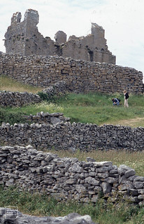 15th Century O'Brien's Castle or 14th Century inside 13th Century Fort wall, 2002