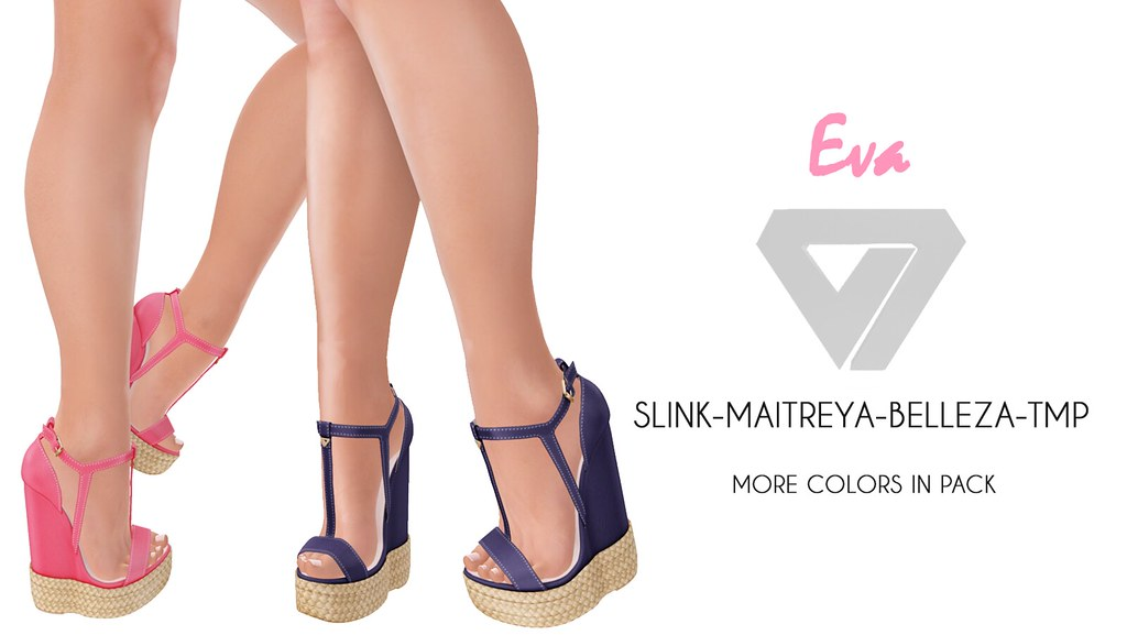 Eva Espadrille Wedges (for Tres Chic) - SecondLifeHub.com