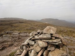 2017 May11 - Ardnageer SW Top 626m, looking on
