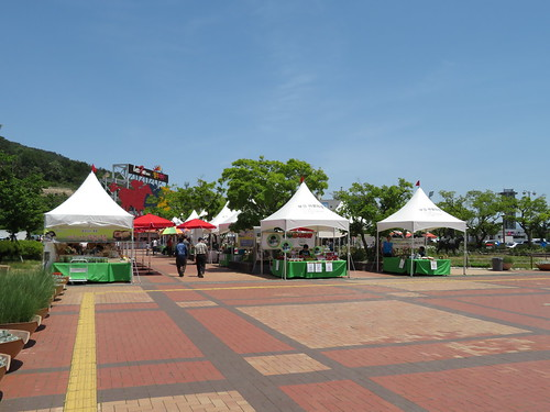 釜山慶南競馬場の出店