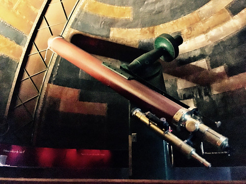 Sydney Observatory. The telescope.
