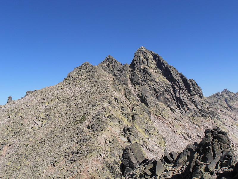 El Almanzor 2591 m techo de Gredos y del Sistema Central