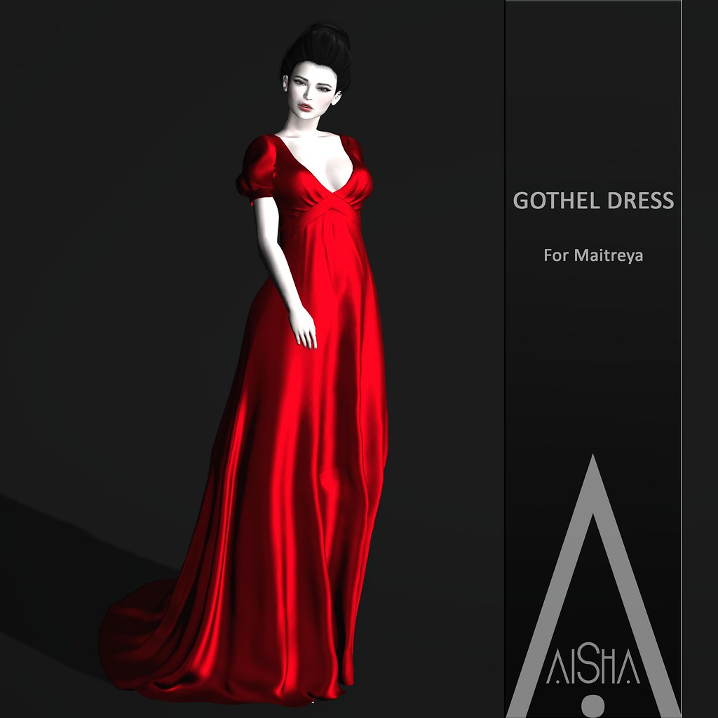 .AiShA. Gothel Dress Red @ Enchantment - SecondLifeHub.com