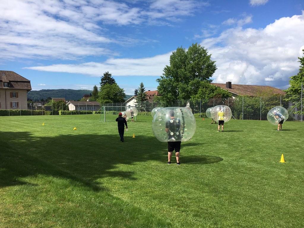 Bubbles Soccer Turnier