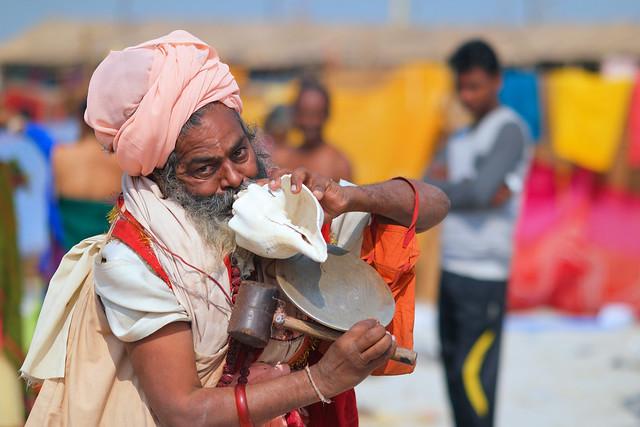 Gangasagar Mela 2017..... Candid Moment