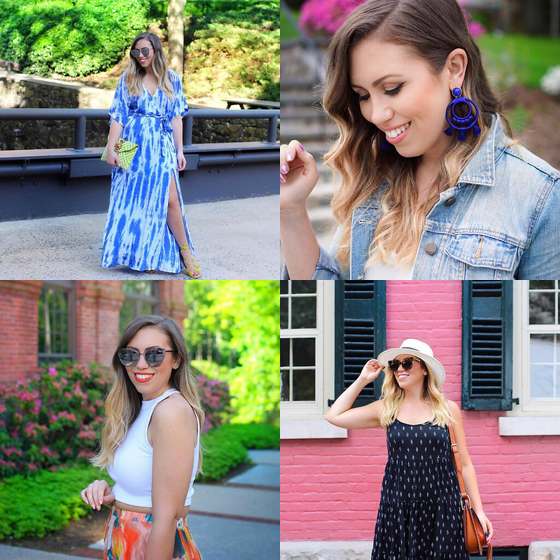Summer Outfit Inspiration June 2017 Round Up