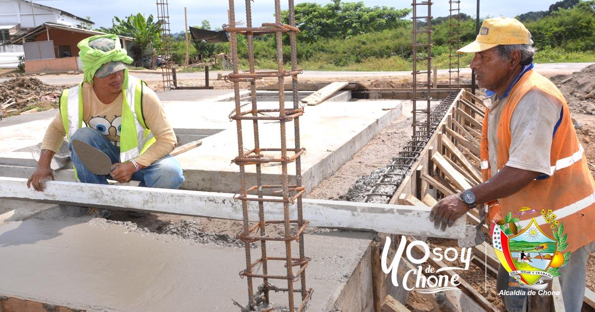 Ubican antenas para cerramiento de estación de aguas lluvias en la 30 de Marzo