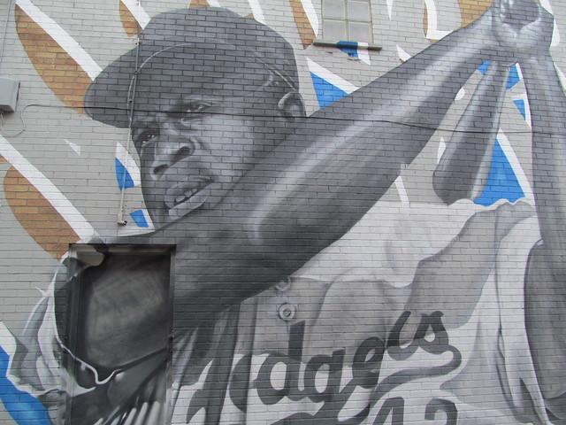 Jackie Robinson as a Dodger