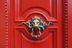 Door knock @ HQ of Banque Palatine @ Paris