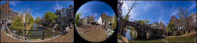 Utrecht, Oudegracht / Geertebrug