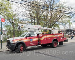 FDNY Plant Ops Truck, East Bronx, New York City