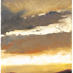 Ken Elliott; Cloud Fragment; Monotype with chine-colle; 2004 -