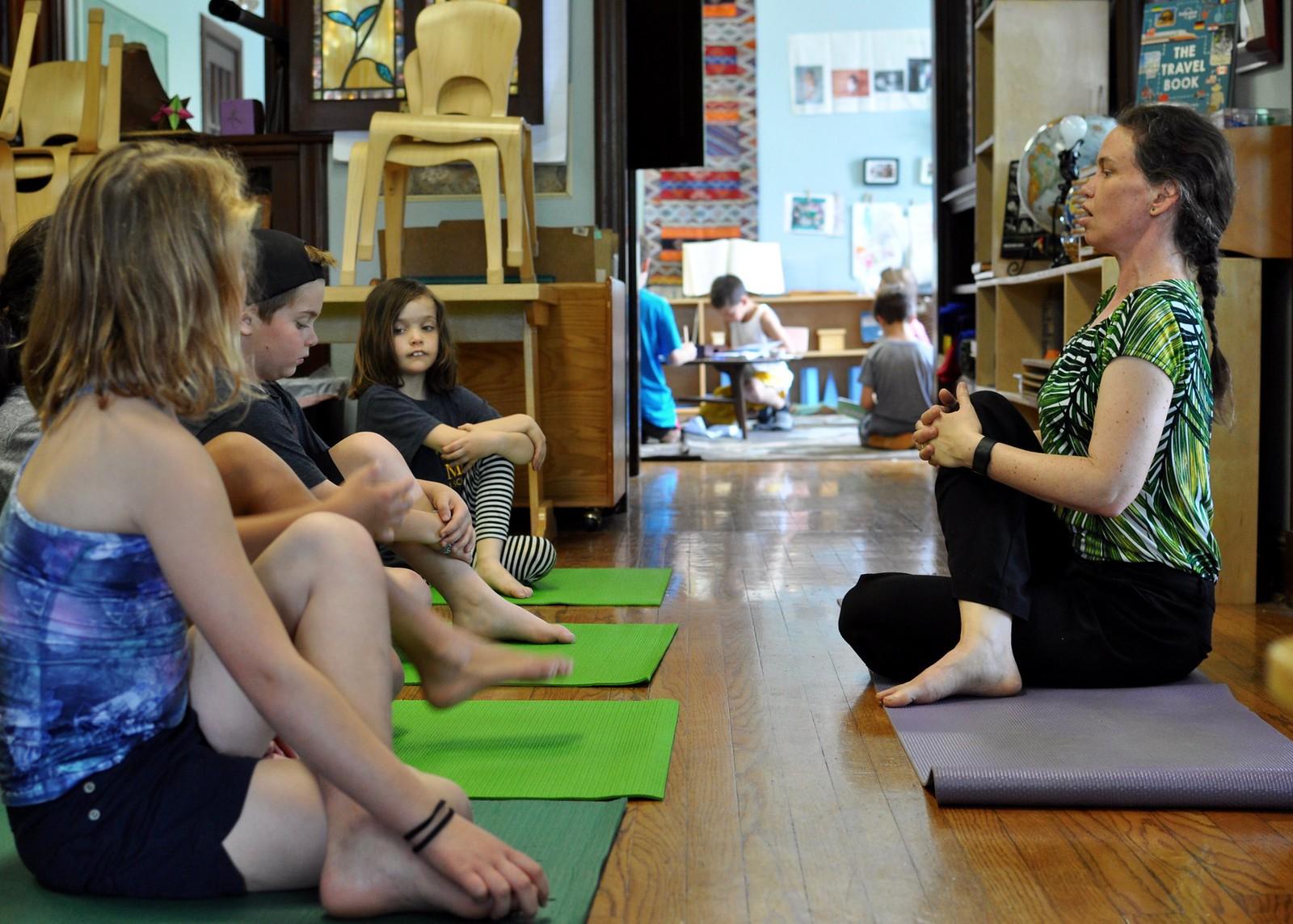 Yoga in the Classroom – Villa di Maria Montessori School – Blog