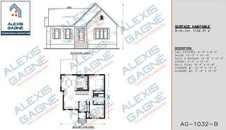 Plan de maison 1 étage - MM1e.12