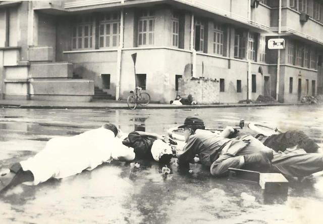 1966 Terrorist Attacks and Riots in SAIGON - Trụ sở CTy Điện Lực Saigon, góc Hai Bà Trưng-Nguyễn Siêu