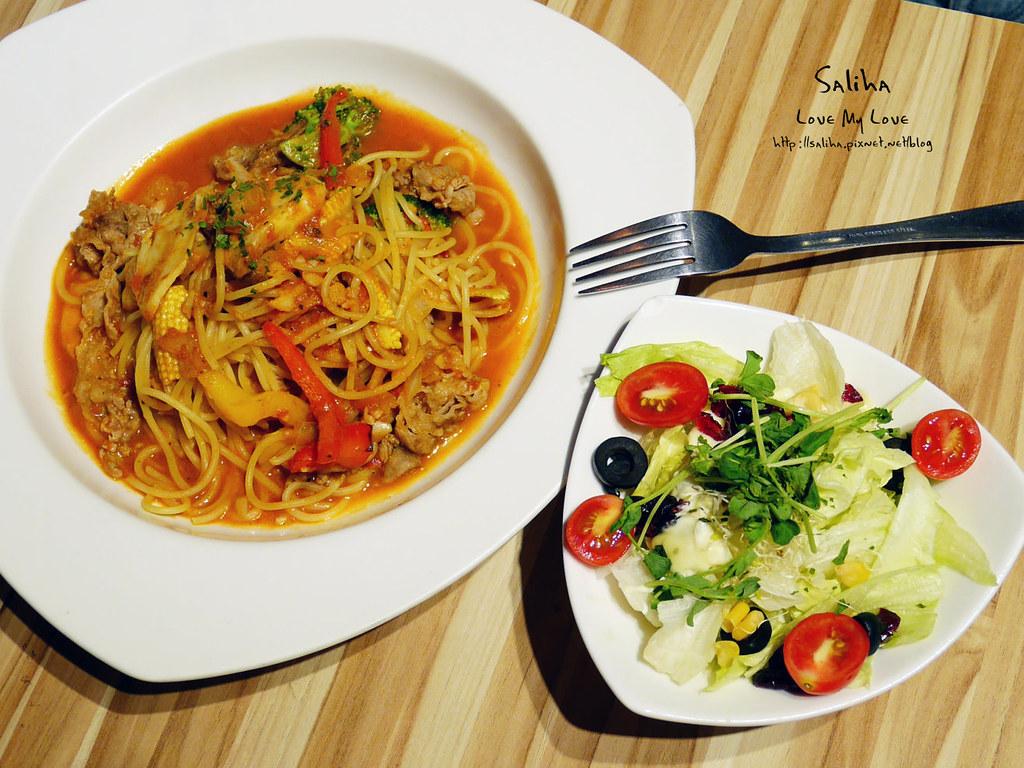 七張大坪林站附近餐廳美食不限時咖啡館推薦T.D. Cafe 義大利麵鬆餅早午餐 (2)