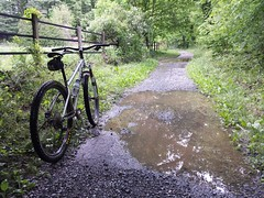2017 Bike 180: Day 69 - Another Wet One