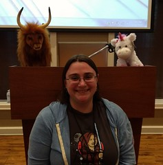 A yak and a unicorn! #slcdevopsdays