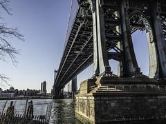 Underneath the Manhattan Bridge