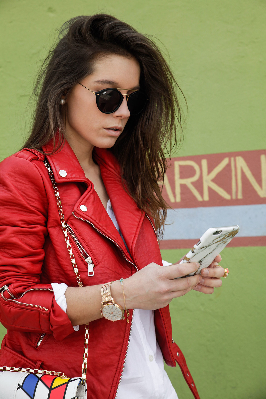 04_Red_Biker_Casual_Look_theguestgirl