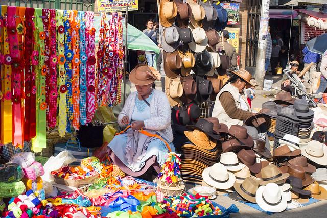 Artisan et vendeur.. El mercado...Huancayo