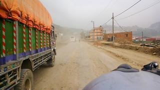 dusty Kathmandu