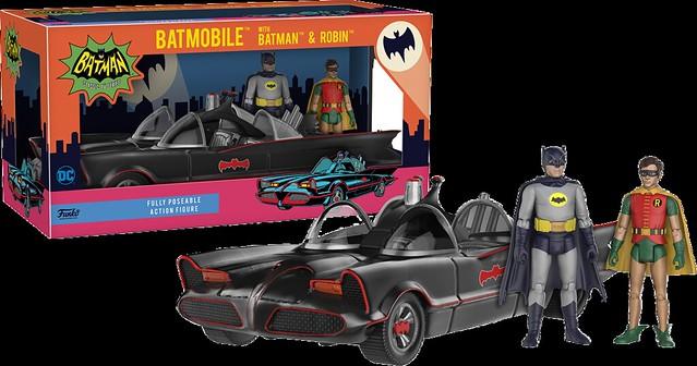 舊愛總是最美,1966年經典電視版本 「蝙蝠俠&羅賓與蝙蝠車」 Batman & Robin with Batmobile 作品