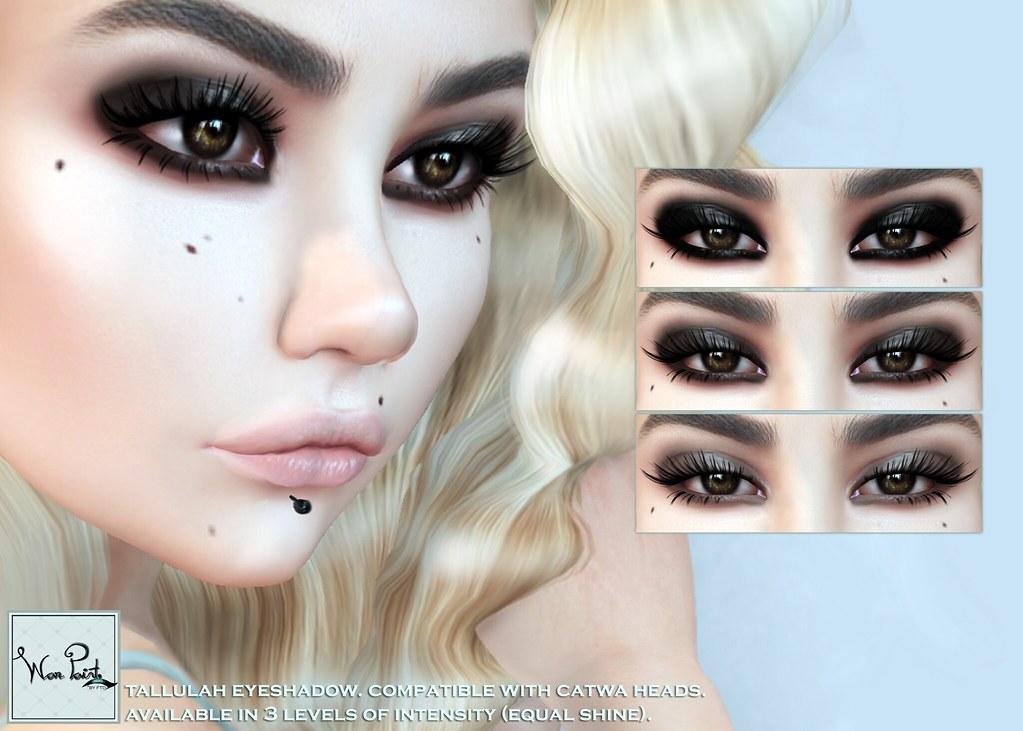 WarPaint* @ TDSF - Tallulah eyeshadow - SecondLifeHub.com