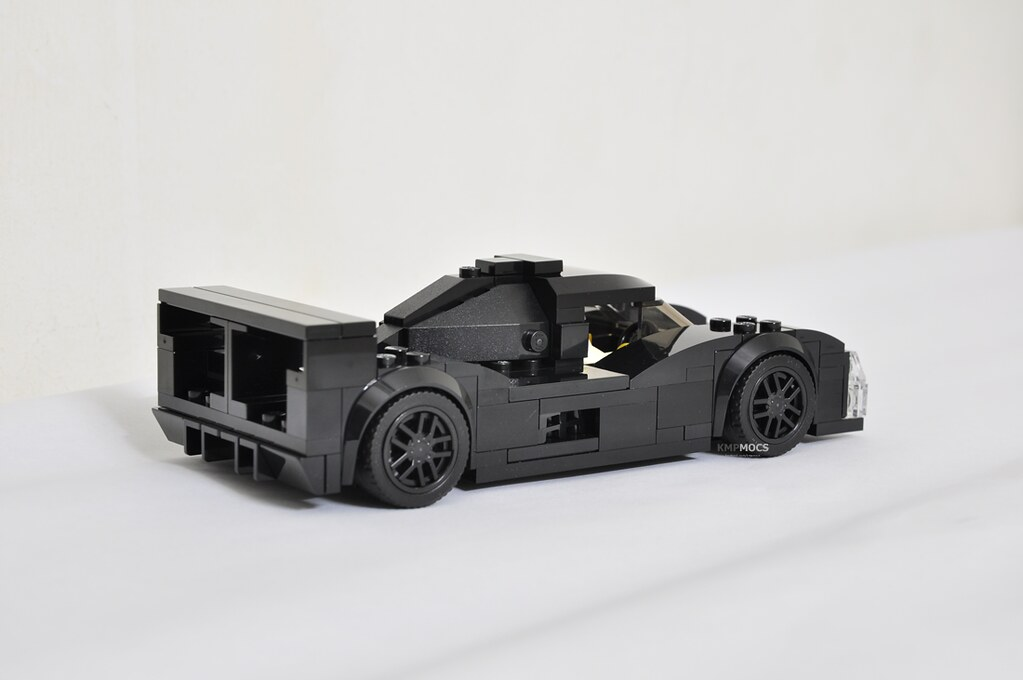 Le Mans Prototype Race Car MOC