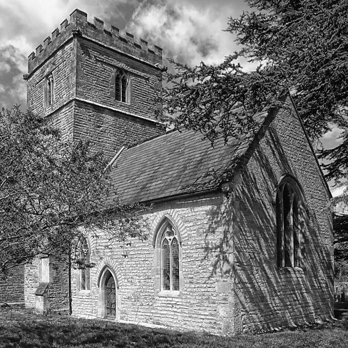 _DSC06431_St Mary's Church Shapwick_BW